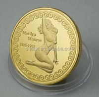 Egypt gold coins,sex coins, sex euros replica old coin
