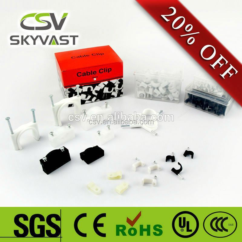 CSV Factory plastic pipe cable holder clip
