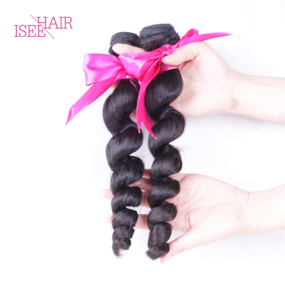 Unprocessed Brazilian Remy Hair Extensions Loose Wave Knot Hair Extension