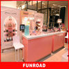 Customize eyebrow threading kiosk with high glossy lacquer