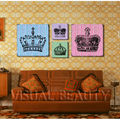Wholesale Crown Canvas Painting Art/Dropship Canvas Wall Art/Group Canvas Print