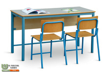 metal frame and wooden student desk and chair G3167 for classroom school