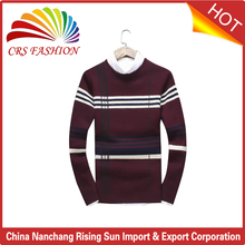 custom New arrivals korean style men woolen design pullovers sweaters