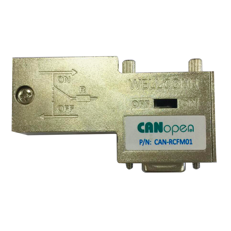 The CAN bus interface connector CAN-RCFM01for use in CAN-bus systems up to <strong>10</strong> Mbps
