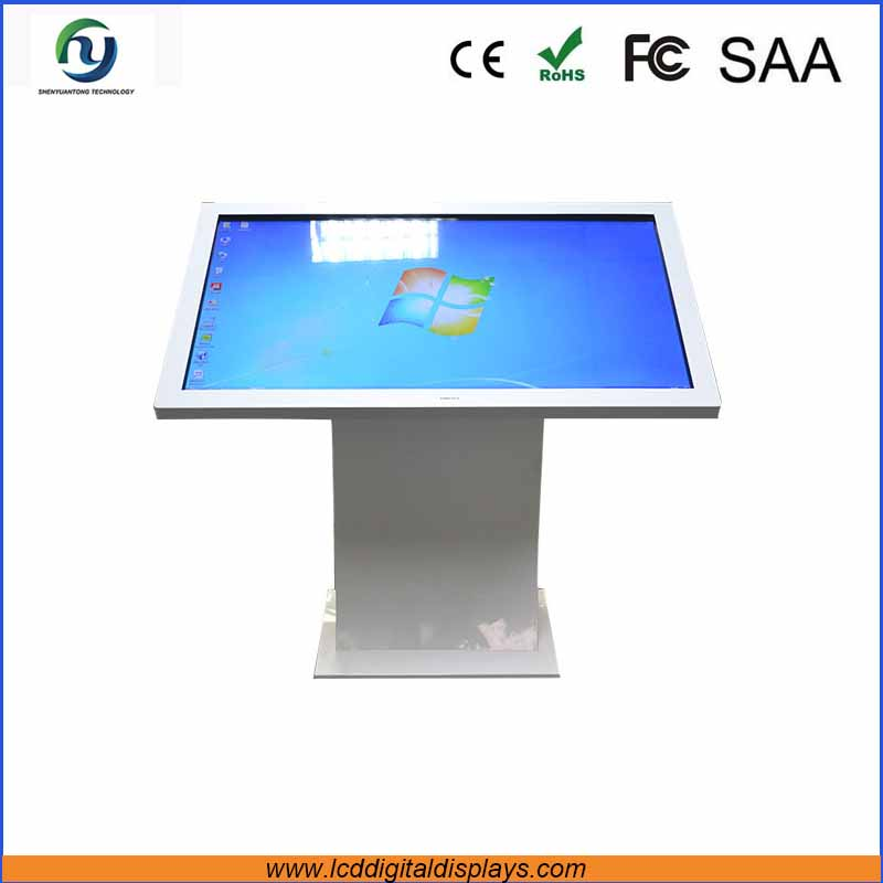 Reliable monitor 32 inch screen design kiosk touch screen