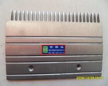 Escalator comb plate/aluminum comb plate for promotion