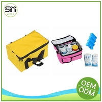 Natural style factory price cool ice picnic lunch cooler bag