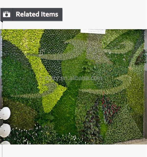 2016 새로운 디자인 녹색 수직 정원 시스템 수직 정원 식물 벽 ...