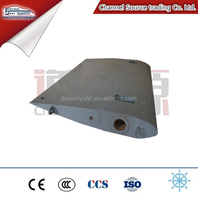 high quality marine rudder blade for marine steering system