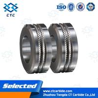 extruded tungsten carbide rod cemented carbide wire flattening and tube mill rolls with great price