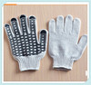 pvc dotted working glove/construction safety gloves dotted,construction safety gloves dotted