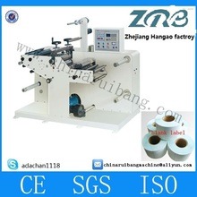 Label die cutting sliter rotary equipment /slitting rewinding machine