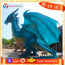 Factory custom 3D animals Hand-carved Big dragon figurines
