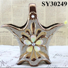 2015 new product flower vase painting designs ceramic