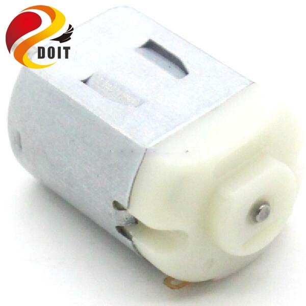 Official DOIT 3V 0.2A 12000RPM R130 Mini Micro DC Motor for DIY Toy Hobbies Smart Car Motor