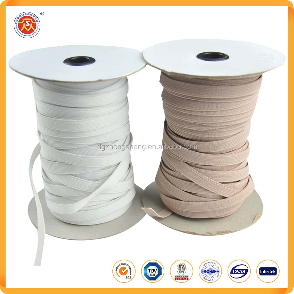 High quality custom narrow woven elastic band for garment accessory