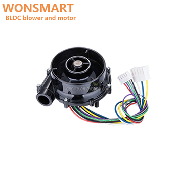 High pressure dc brushless fan