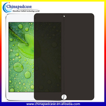 2016 latest anti spy screen protector for ipad6 for ipad air2 anit peek privacy screen guard
