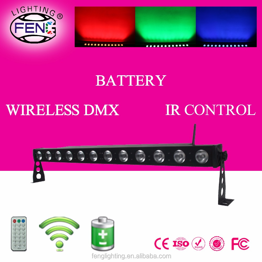 IR remote control rgbw 4in1 light up bar battery pin spot led christmas lights