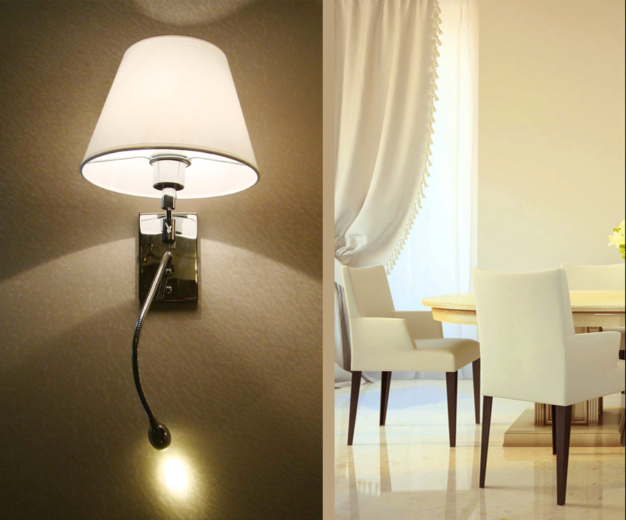 High Quality Bedside Wall Light With Led Reading Light For Factory Price - Buy Wall Light,Led ...