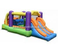 Low price inflatable bouncy castle with water slide with best quality Z2055