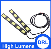 Modern design auto led light daytime running light 12V led orange daytime running light