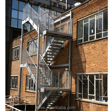 outside galvanized steel staircase/exterior metal stairs