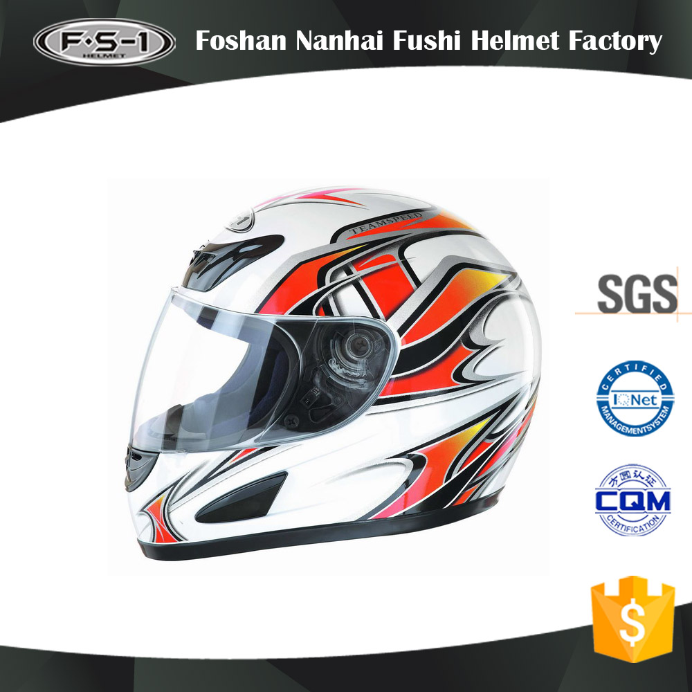 China helmet supplier ABS material DOT approved custom full face motorcycle helmets