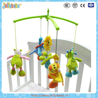 Jollybaby Baby Cute Cartoon Music Rotary Bed Bell
