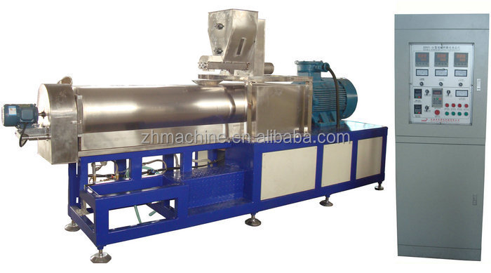 industrial Stainless Steel Screw Dry Dog Food Extruder Machine