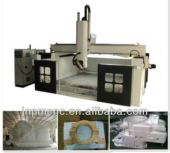 Five axis cnc router engraving center with 8 tools ATC SH-3350