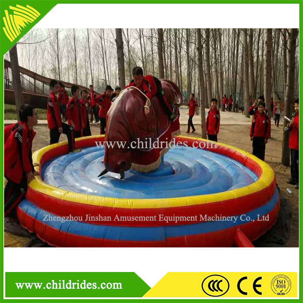Popular Inflatable/swing Type mechanical red bull