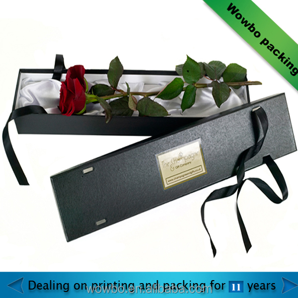 individual flower / rose packaging gift paper box