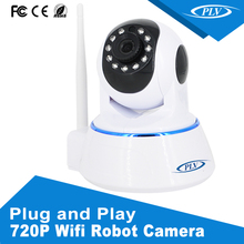 Home cctv wireless camera robot night vision wifi ip security p2p network camera