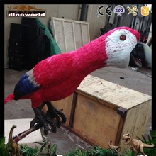 DW-0541 Zoo Equipment Artificial Animated Animal Lifelike Parrot