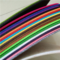 China wholesale customized colorful soundproof needle punched nonwoven felt fabric