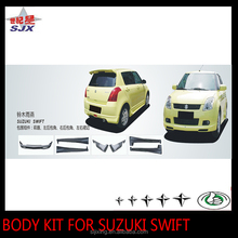 Car body kit bumper for SWIF PP material rear lip spoiler