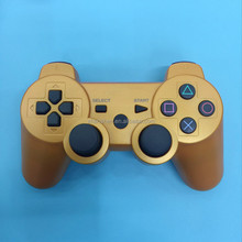 Silver gold wireless bluetooth game controller joystick for ps3 move motion controller