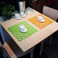 Colorful and newest design felt kids table mats for promotion