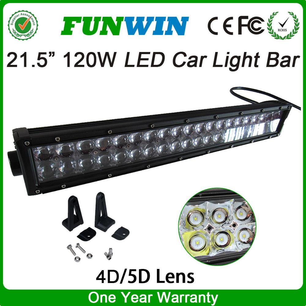 High Power 120W Stainless Steel Bracket Illuminator Led Light Bar