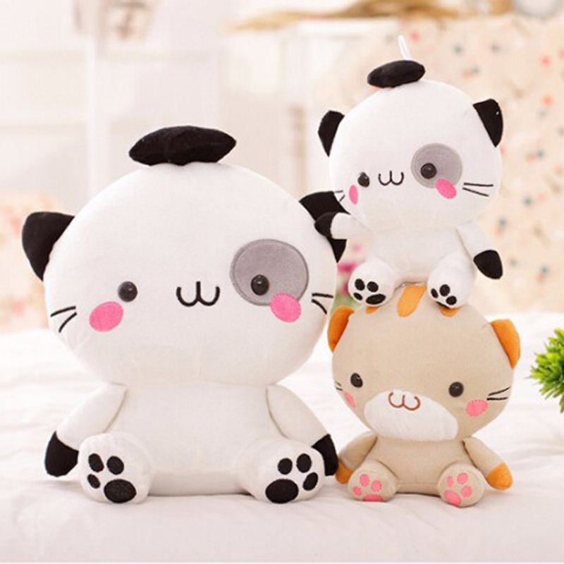 12cm super cute high quality Japan big face kitty cat pendant, plush kawaii cat toy, birthday graduation gift for children