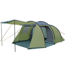 Professional family 4 person tunnel tents for camping