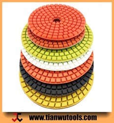 4 inch Best choice high requirement production polishing pads