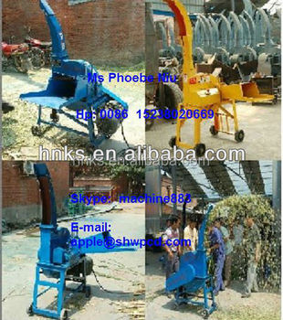 farm use stalk silage cutting machine for corn stalk grass