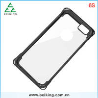 Sample available for Border Series Slim Armor Border Shockproof Case detachable TPU+PC Bumper Frame Cover for iPhone 6S