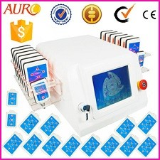 Au-64 CE passed Body Slimming Machine Lipoo Laser Diode Laser slimming beauty machine