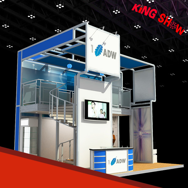 Custom Modular tension fabric trade show booth With Long-term Technical Support
