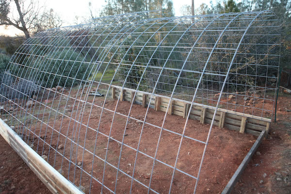 Cattle panel welded greenhouse wire mesh view