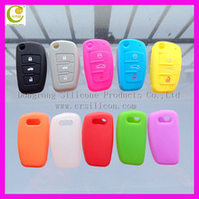 Factory directly supply vrious brand silicone rubber flip key shell for ford/buick/toyoda/ia/nissian/audi/peugeot/bmw/benz