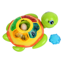 Wholesale Plastic Battery Turtle Animal Toy With Music And Light for Kids